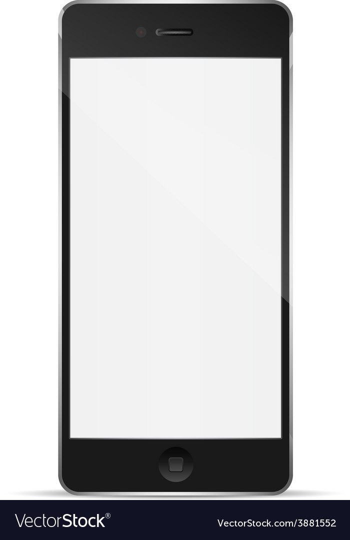 Perfectly detailed modern smart phone vector   Price: 1 Credit (USD $1)