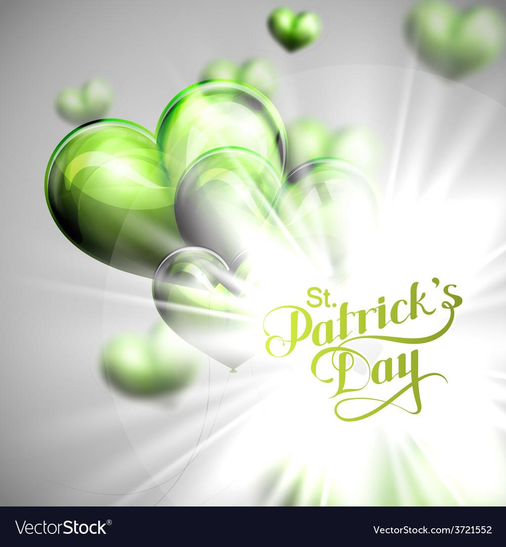 Saint patricks day label vector   Price: 1 Credit (USD $1)
