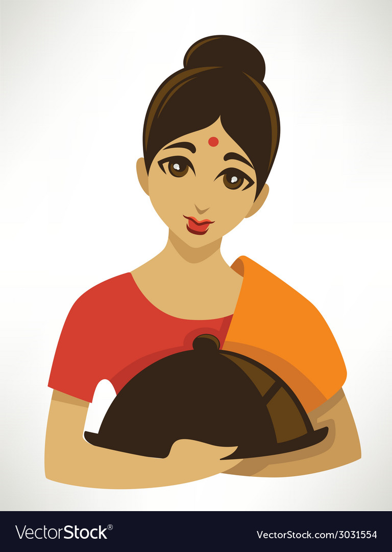 Cartoon indian menu vector | Price: 1 Credit (USD $1)