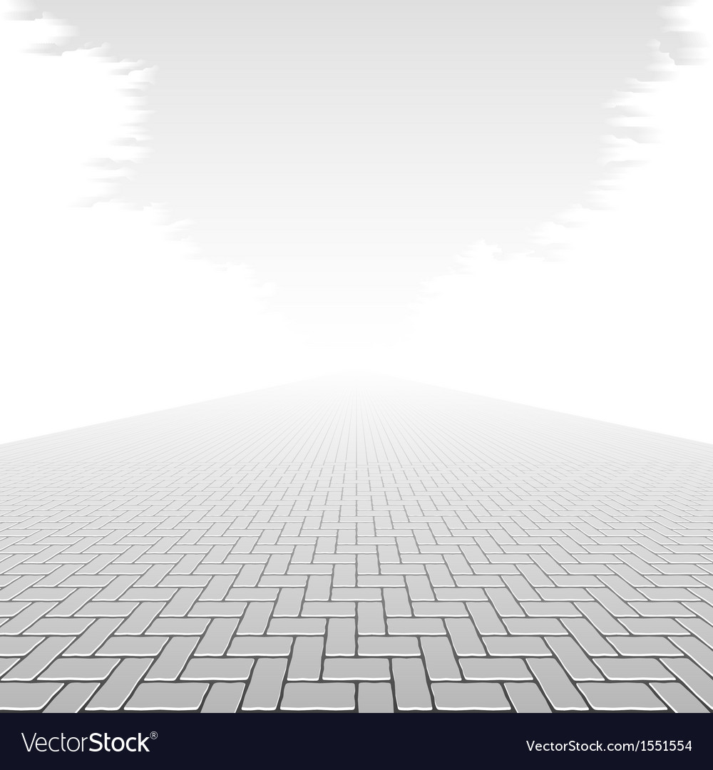 Concrete block pavement vector | Price: 1 Credit (USD $1)