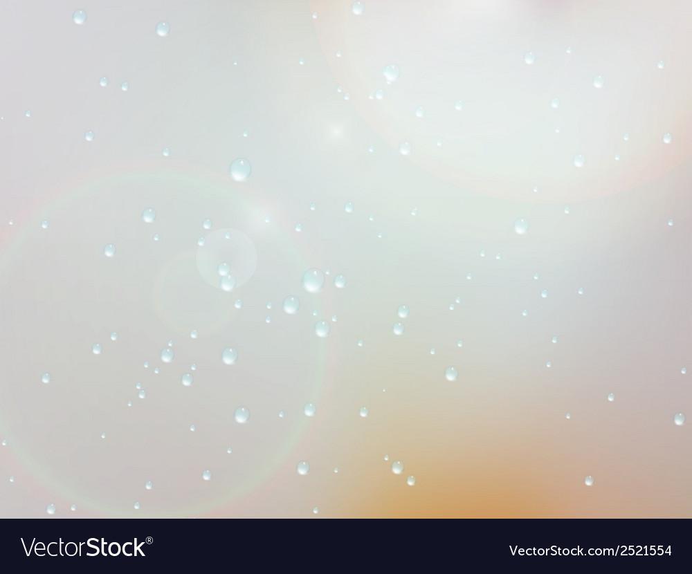 Drops of rain on the window eps10 vector   Price: 1 Credit (USD $1)
