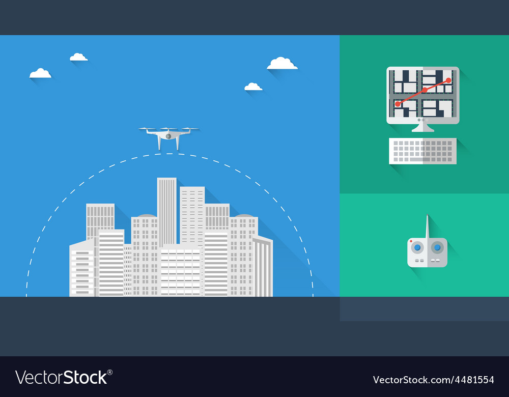 Quadrocopter infographic 02 vector   Price: 1 Credit (USD $1)