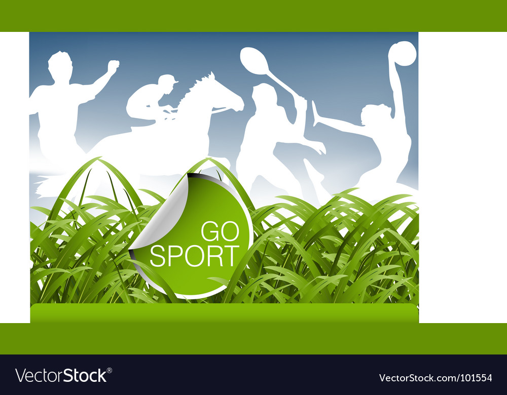 Sports field vector | Price: 1 Credit (USD $1)