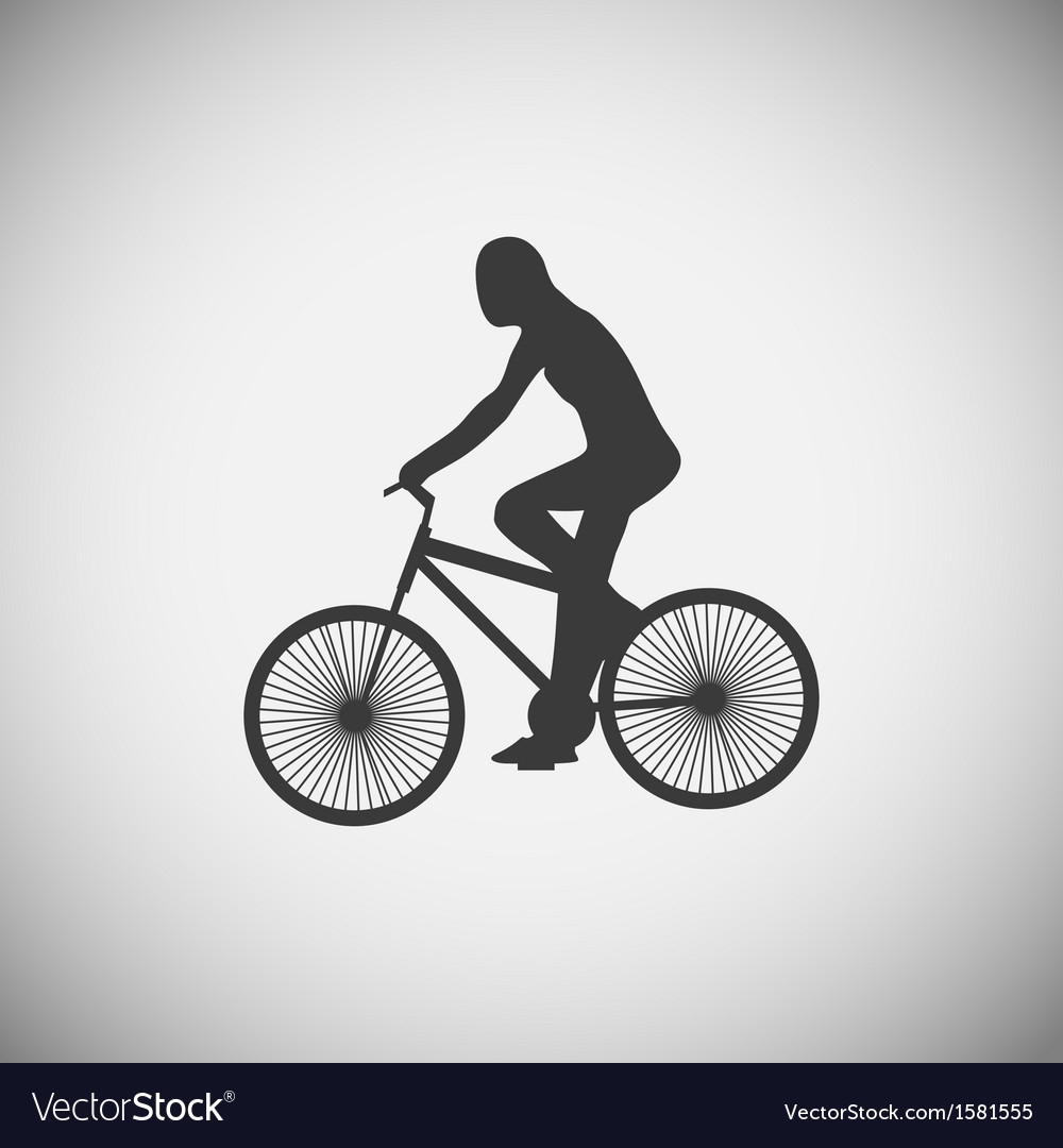 Bicycle wood application icons vector | Price: 1 Credit (USD $1)