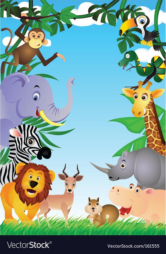 Safari africa vector | Price: 3 Credit (USD $3)