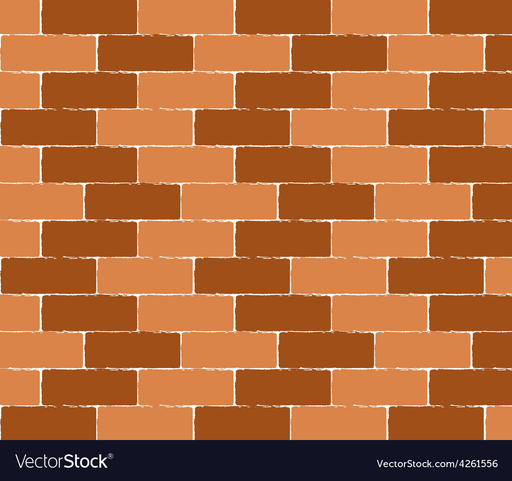 Brick wall seamless background  texture pat vector