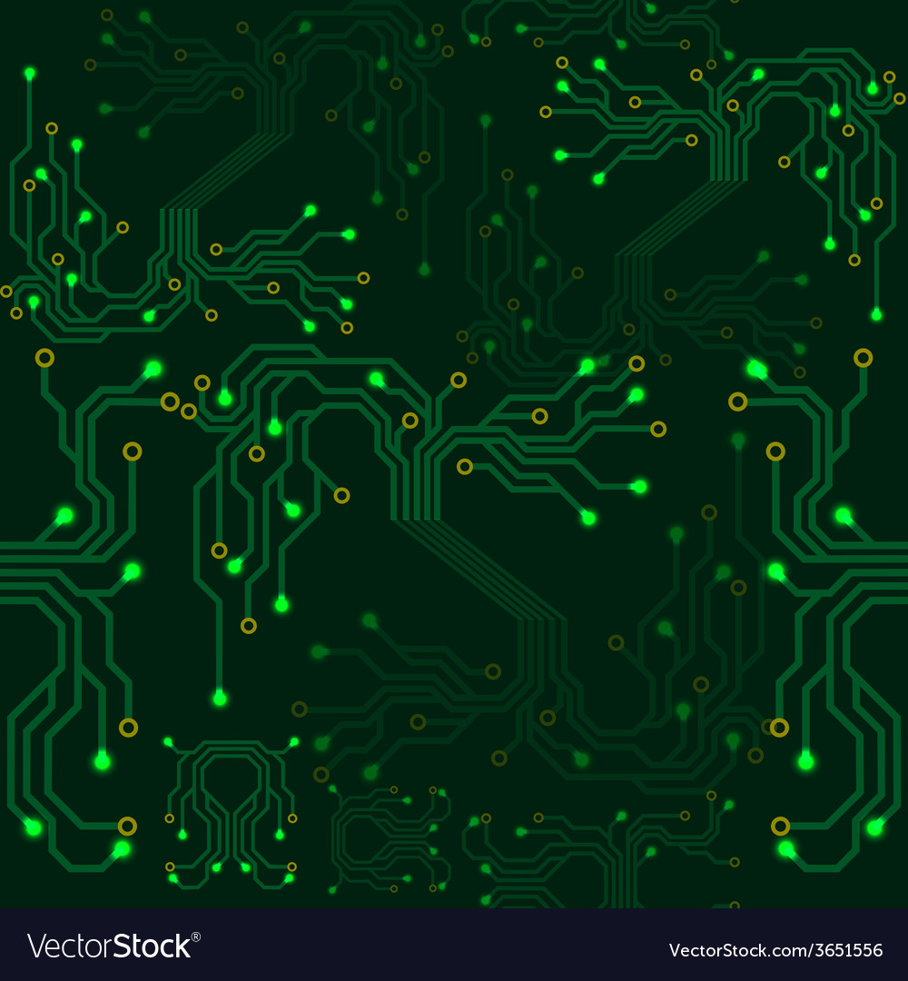 Electrical scheme seamless pattern vector | Price: 1 Credit (USD $1)