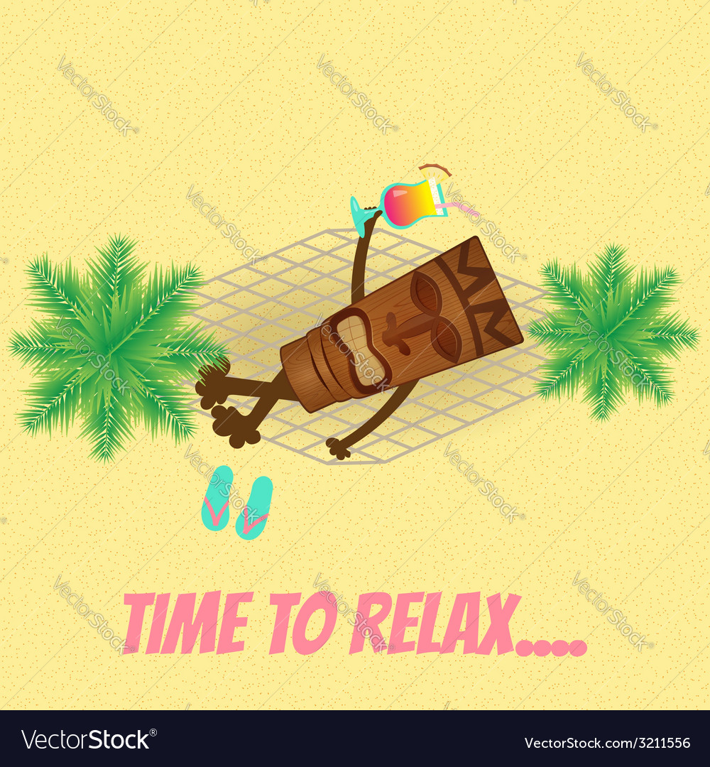 Tiki leisure vector | Price: 1 Credit (USD $1)