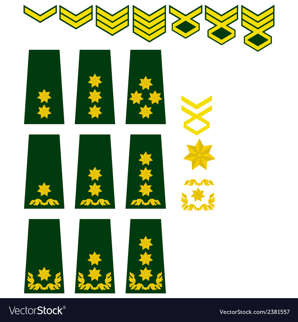 Georgian armed forces insignia vector | Price: 1 Credit (USD $1)