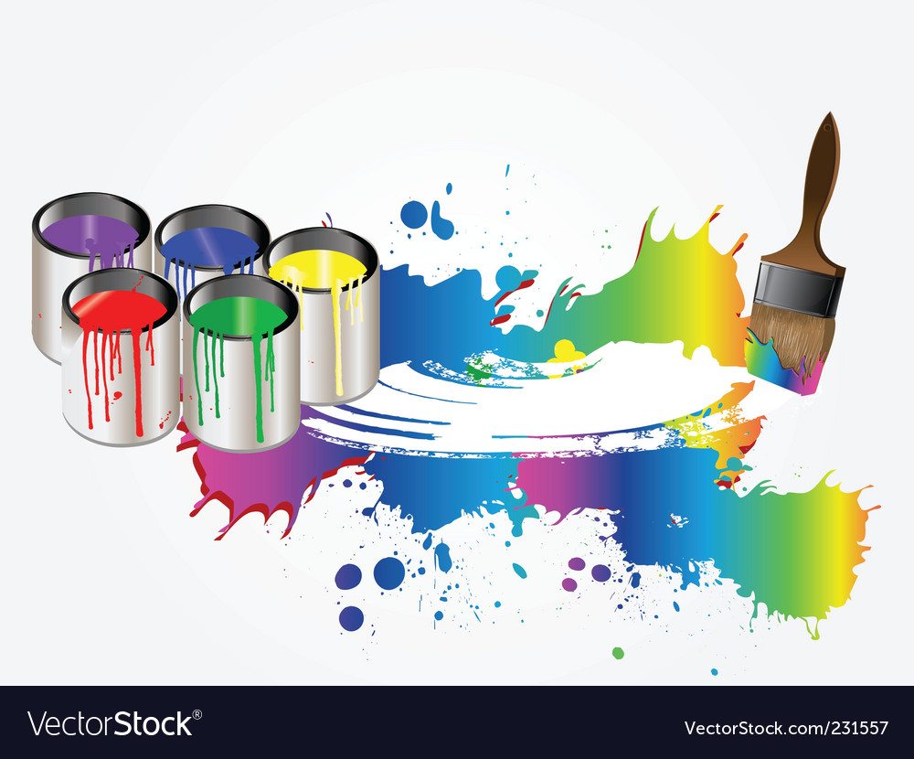Paint vector | Price: 1 Credit (USD $1)