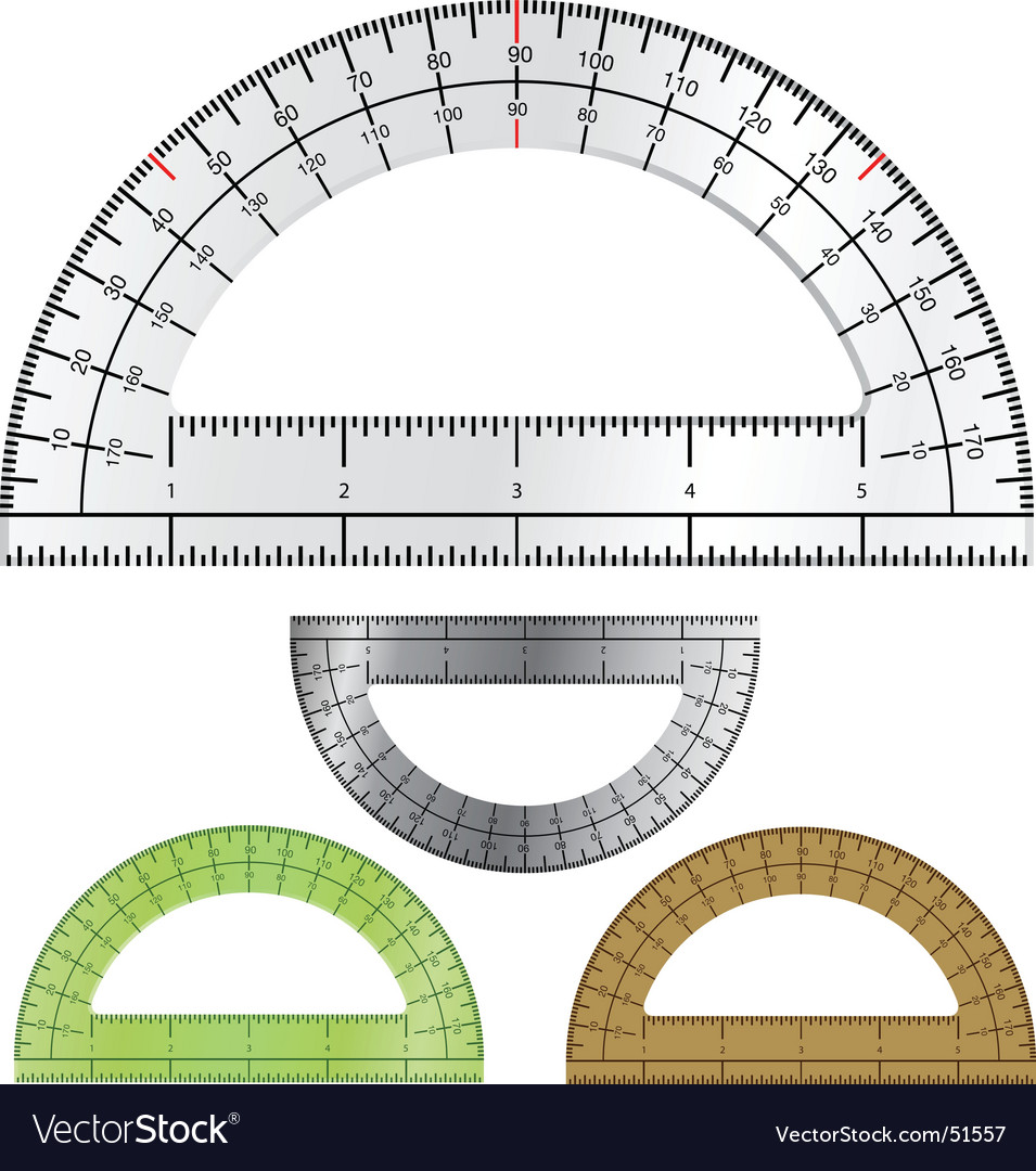 Protractor vector | Price: 1 Credit (USD $1)