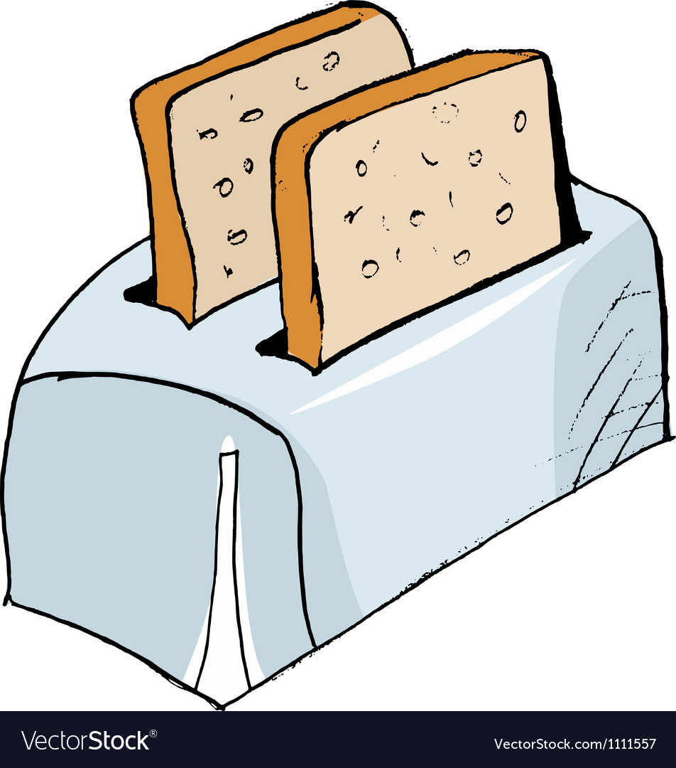 Toaster vector | Price: 1 Credit (USD $1)