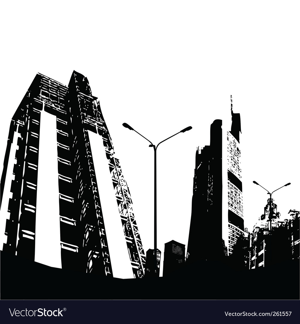 Urban city vector | Price: 1 Credit (USD $1)