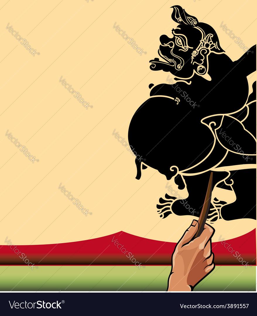 Wayang semar vector | Price: 1 Credit (USD $1)