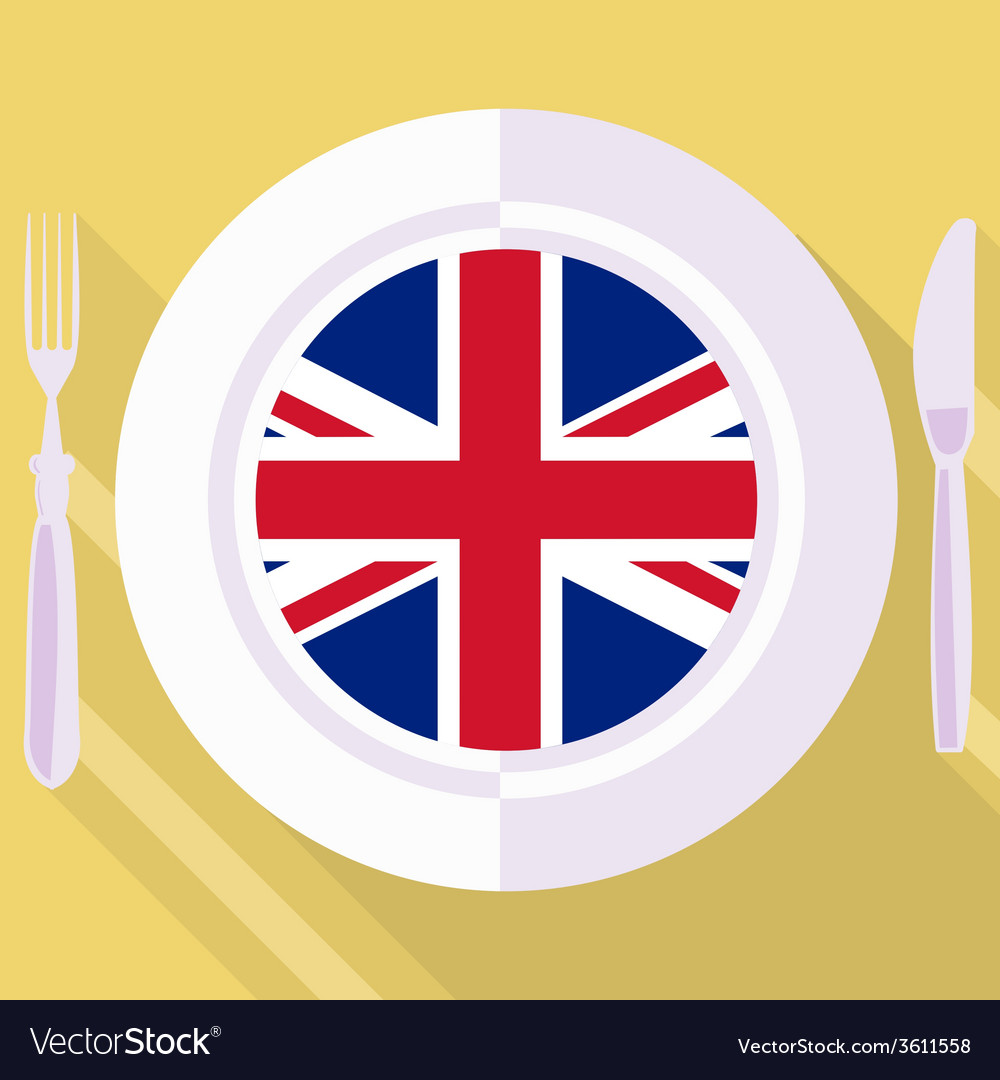 Kitchen of great britain vector | Price: 1 Credit (USD $1)