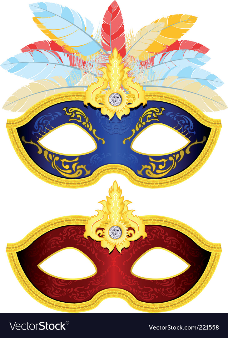 Masquerade mask vector | Price: 5 Credit (USD $5)