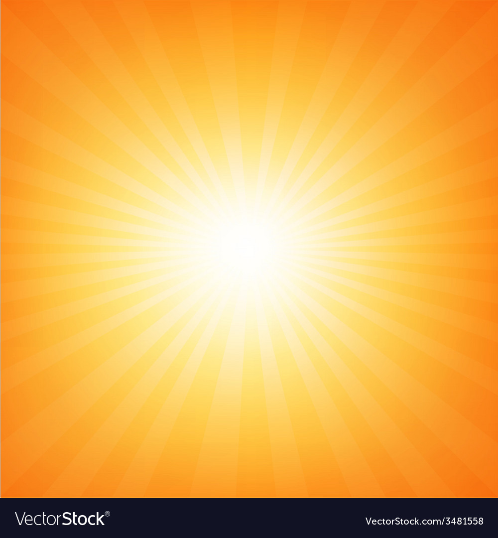 Sunburst poster with beams vector | Price: 1 Credit (USD $1)