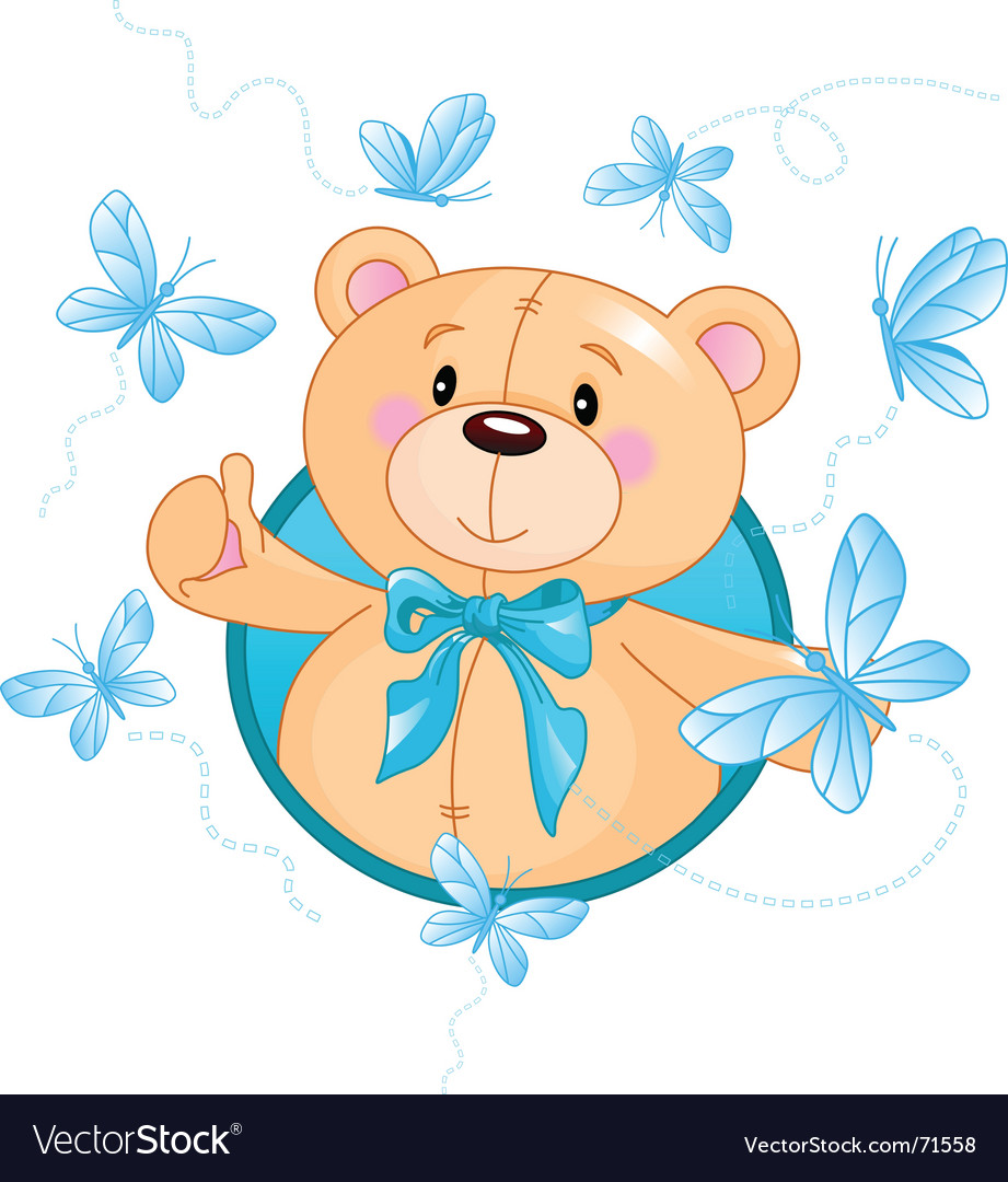 Teddy bear vector | Price: 1 Credit (USD $1)