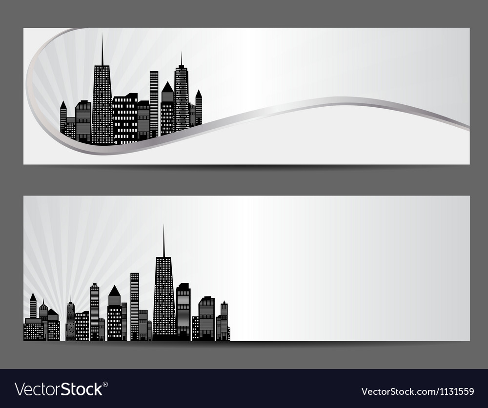 Cities silhouette vector   Price: 1 Credit (USD $1)