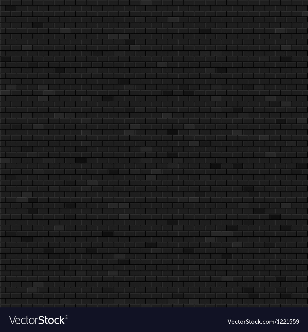 Dark brick wall background vector | Price: 1 Credit (USD $1)