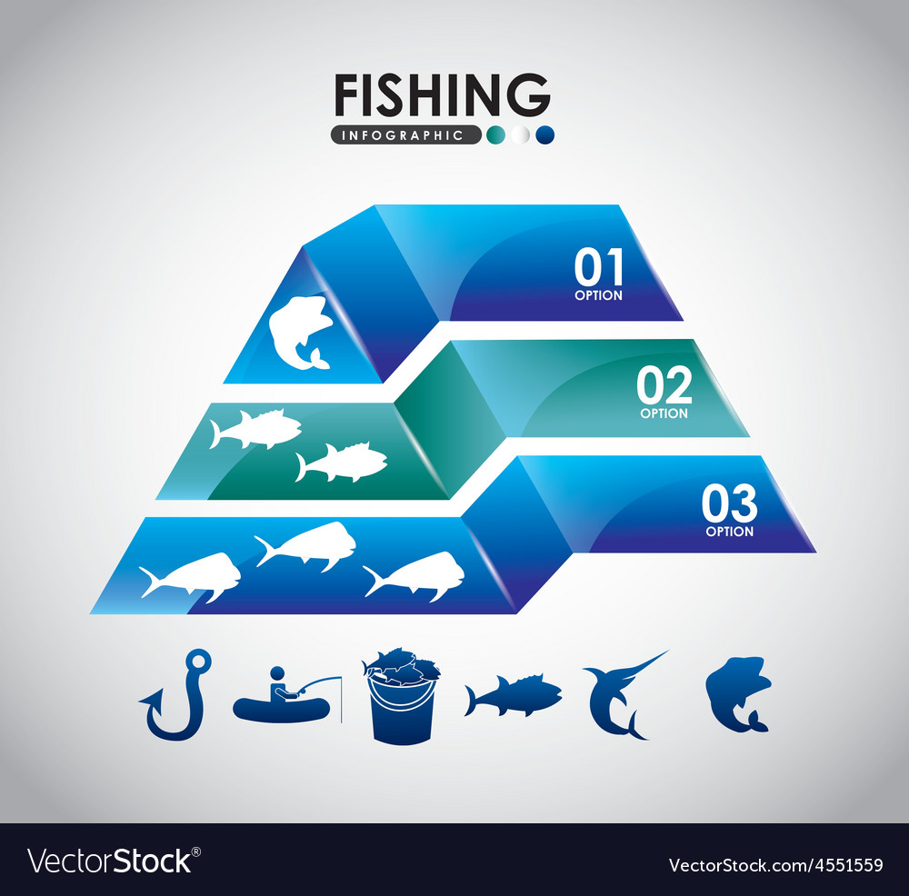 Fishing infographic vector   Price: 1 Credit (USD $1)