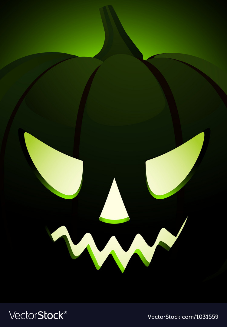 Halloween pumpkin close up vector | Price: 1 Credit (USD $1)
