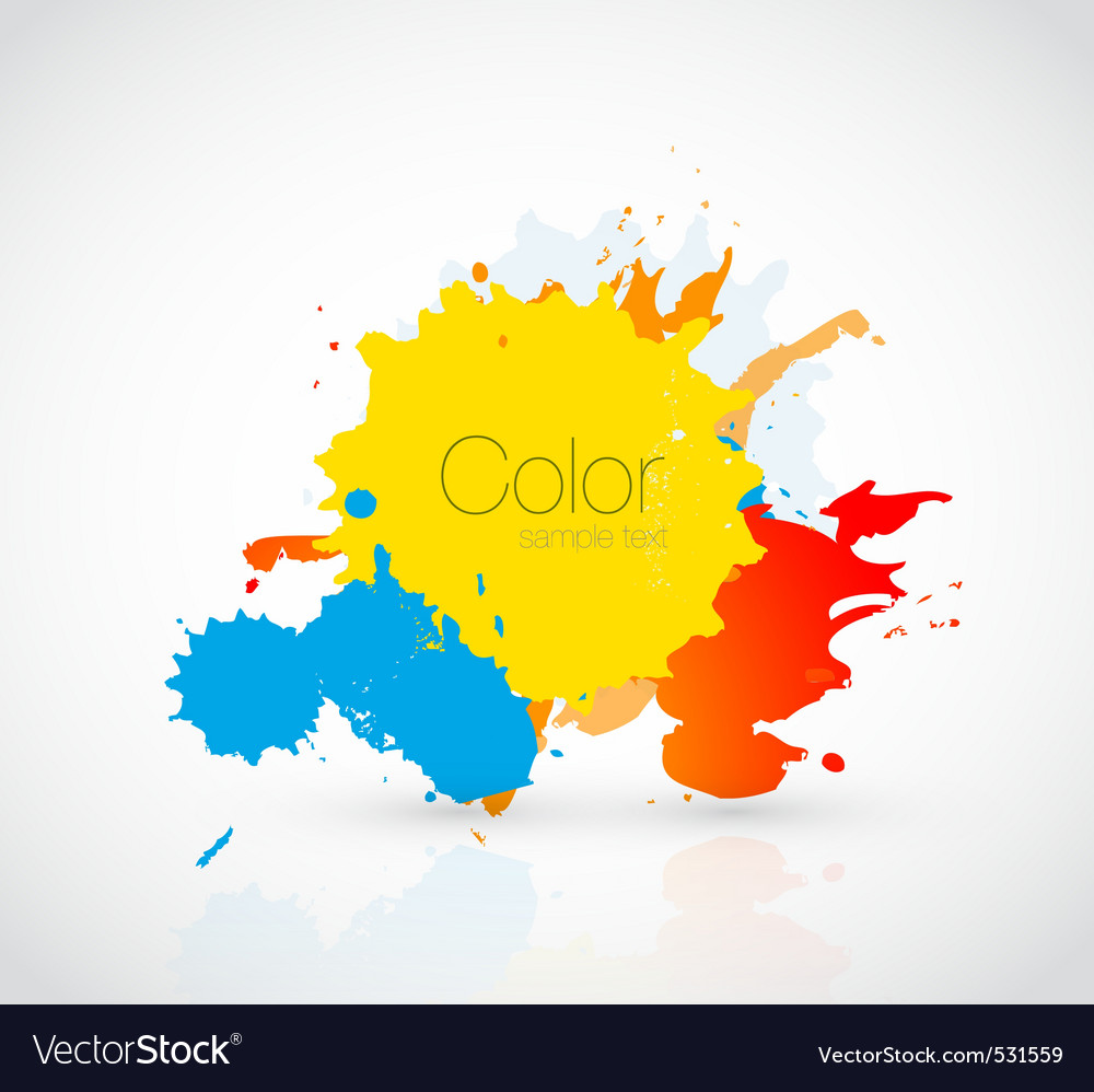 Ink droplet vector | Price: 1 Credit (USD $1)
