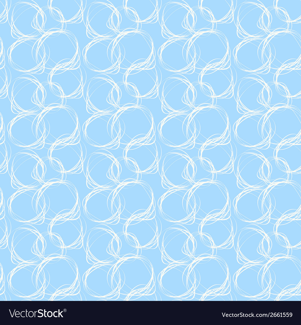 Seamless pattern with hand drawn abstract doodle vector | Price: 1 Credit (USD $1)