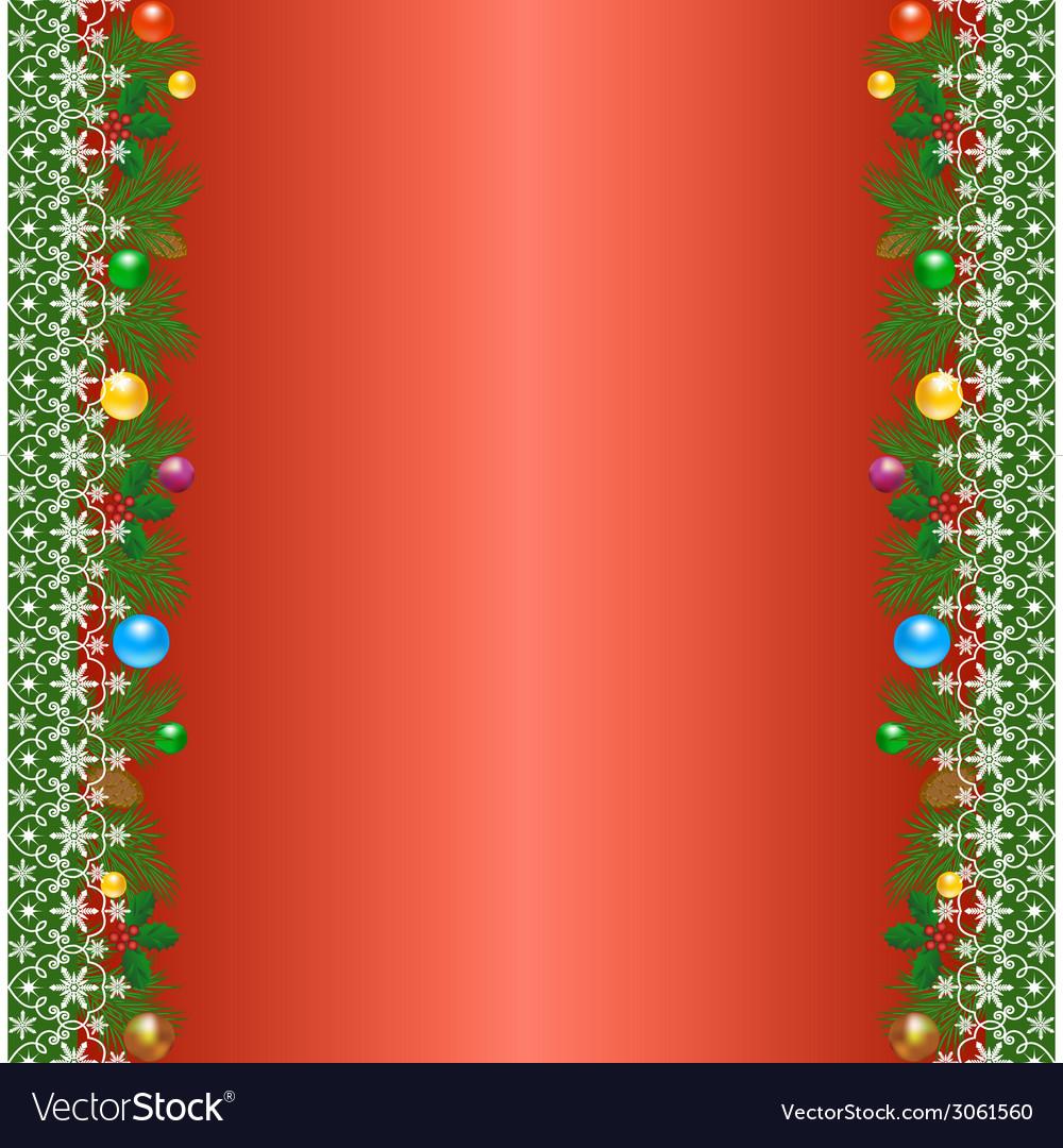 Christmas borders vector   Price: 1 Credit (USD $1)
