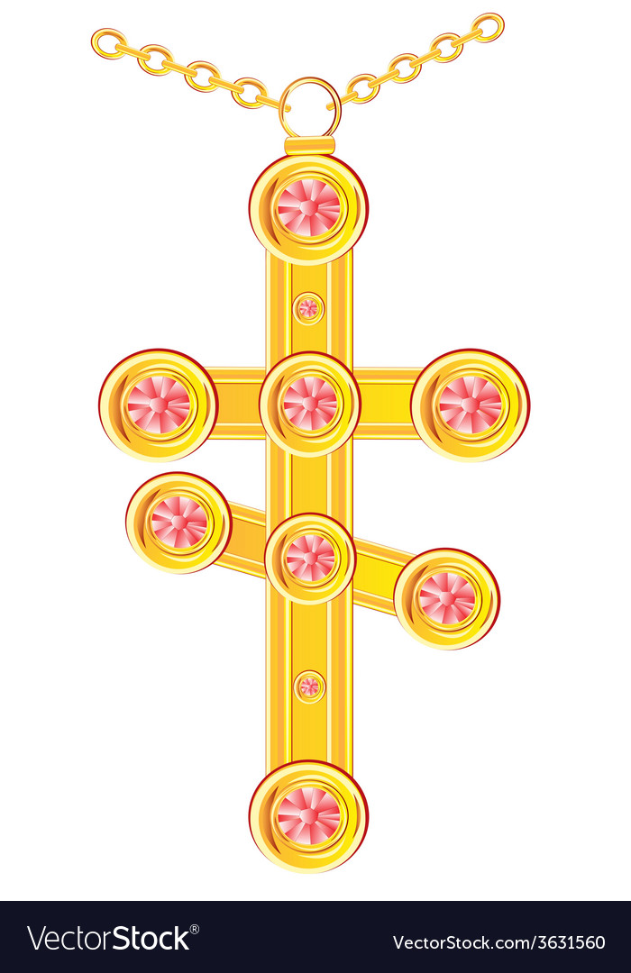 Cross from gild vector | Price: 1 Credit (USD $1)