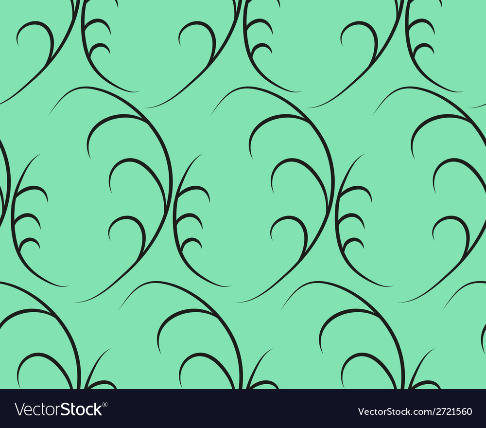Herbal seamless pattern vector | Price: 1 Credit (USD $1)