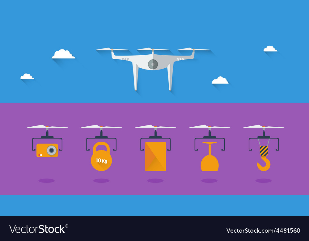 Quadrocopter infographic 03 vector   Price: 1 Credit (USD $1)