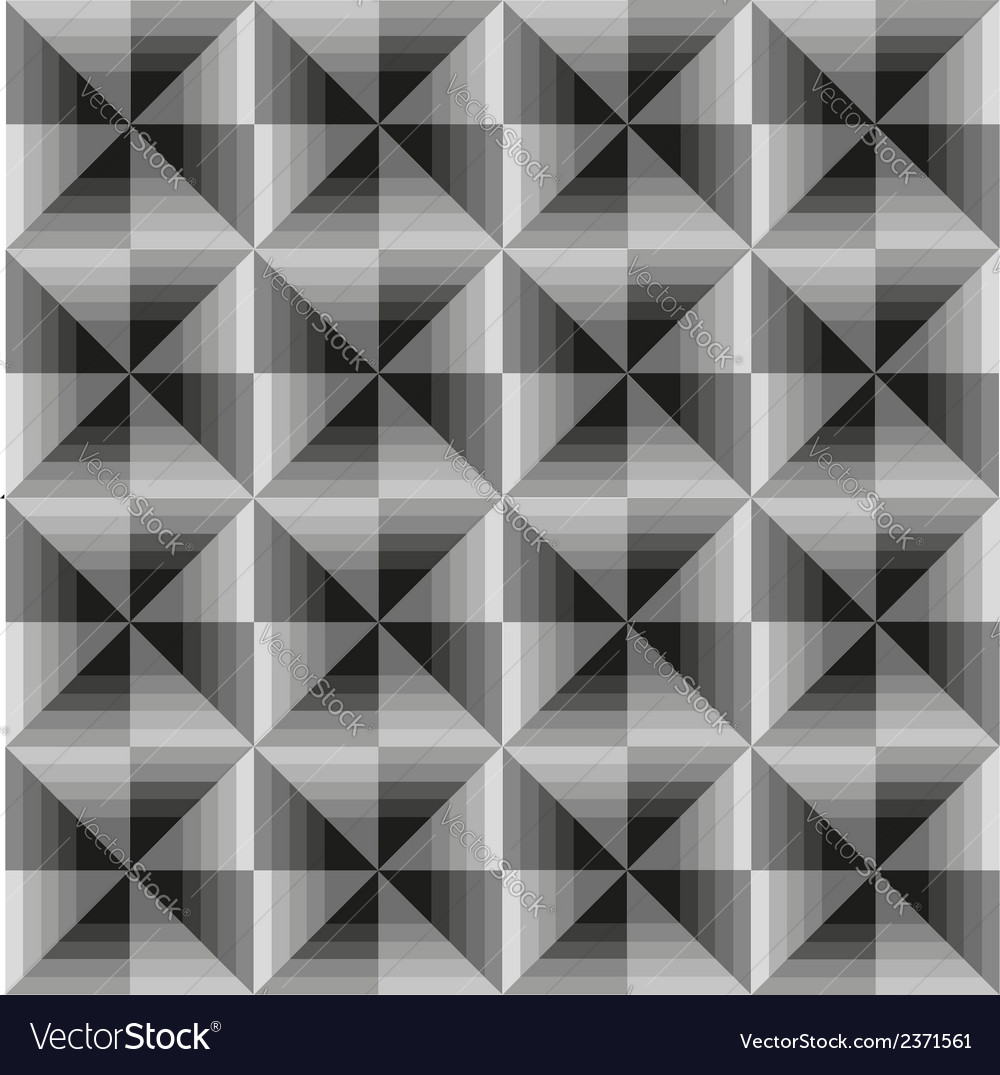 Abstract geometric grey seamless background vector | Price: 1 Credit (USD $1)