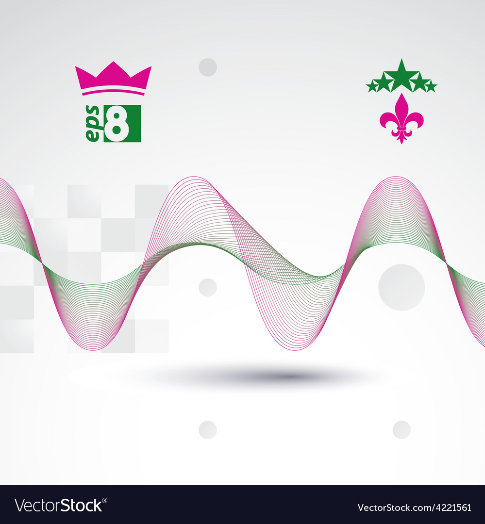 Creative 3d delicate background with abstract vector | Price: 1 Credit (USD $1)