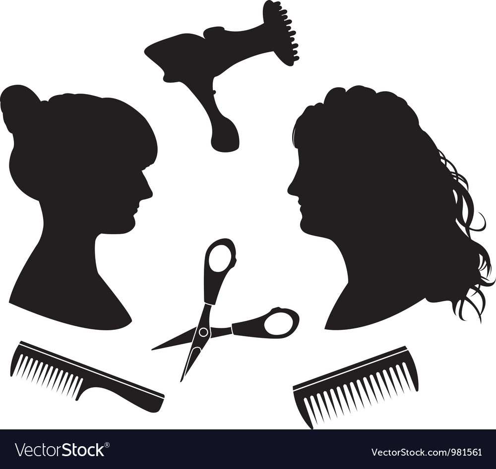 Hairdressing 1 vector | Price: 1 Credit (USD $1)
