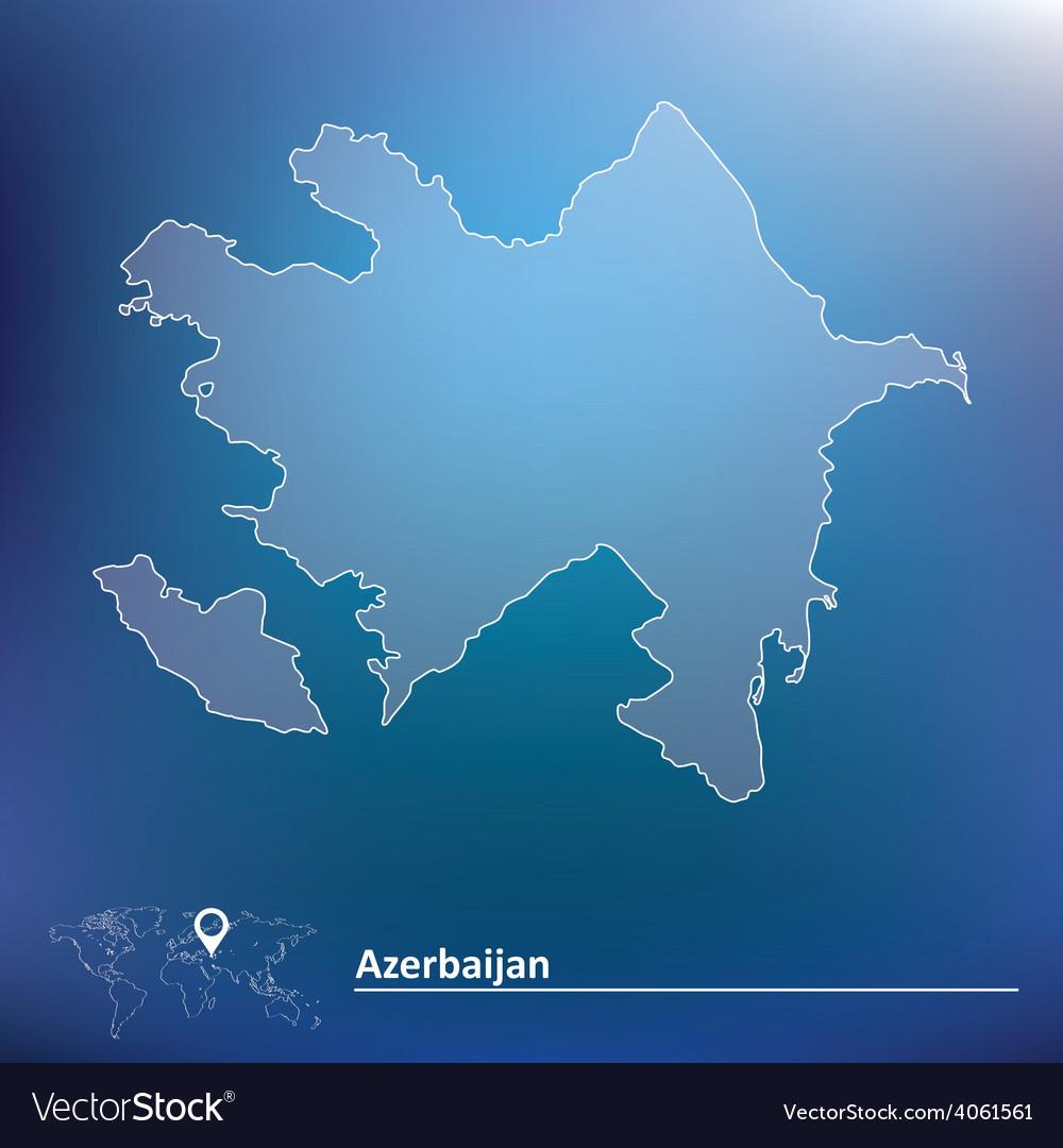 Map of azerbaijan vector   Price: 1 Credit (USD $1)