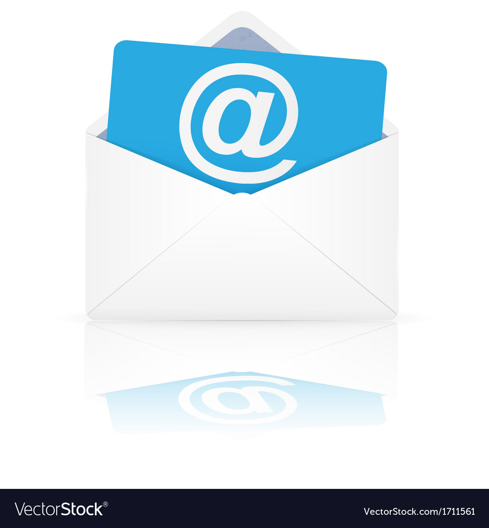 Open envelope with email vector | Price: 1 Credit (USD $1)