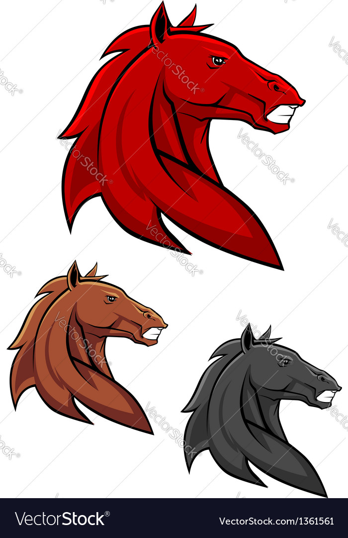 Powerful stallion vector | Price: 1 Credit (USD $1)
