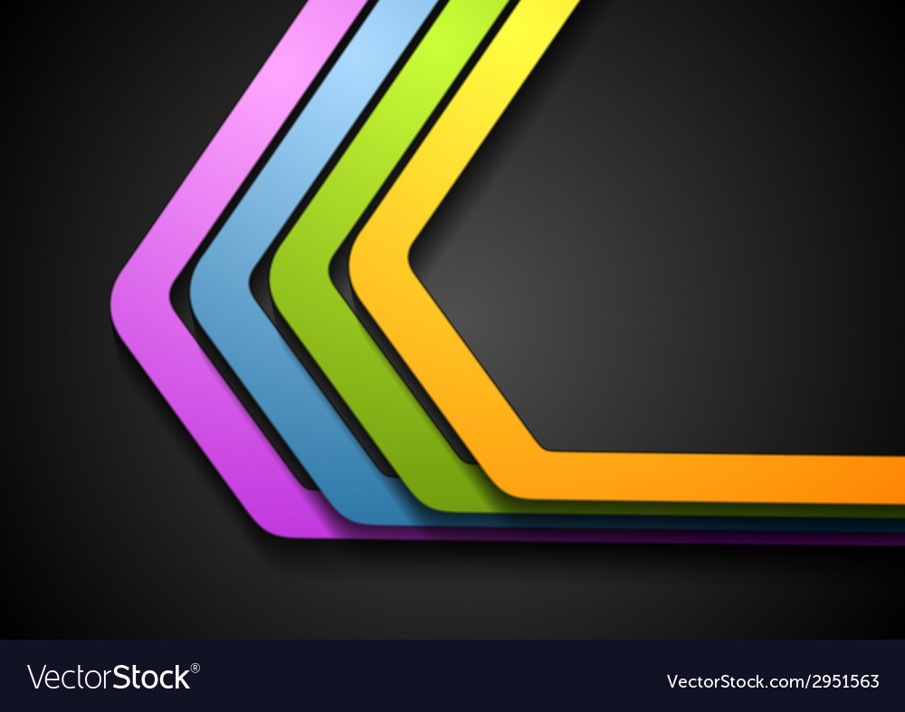 Abstract corporate stripes design vector   Price: 1 Credit (USD $1)