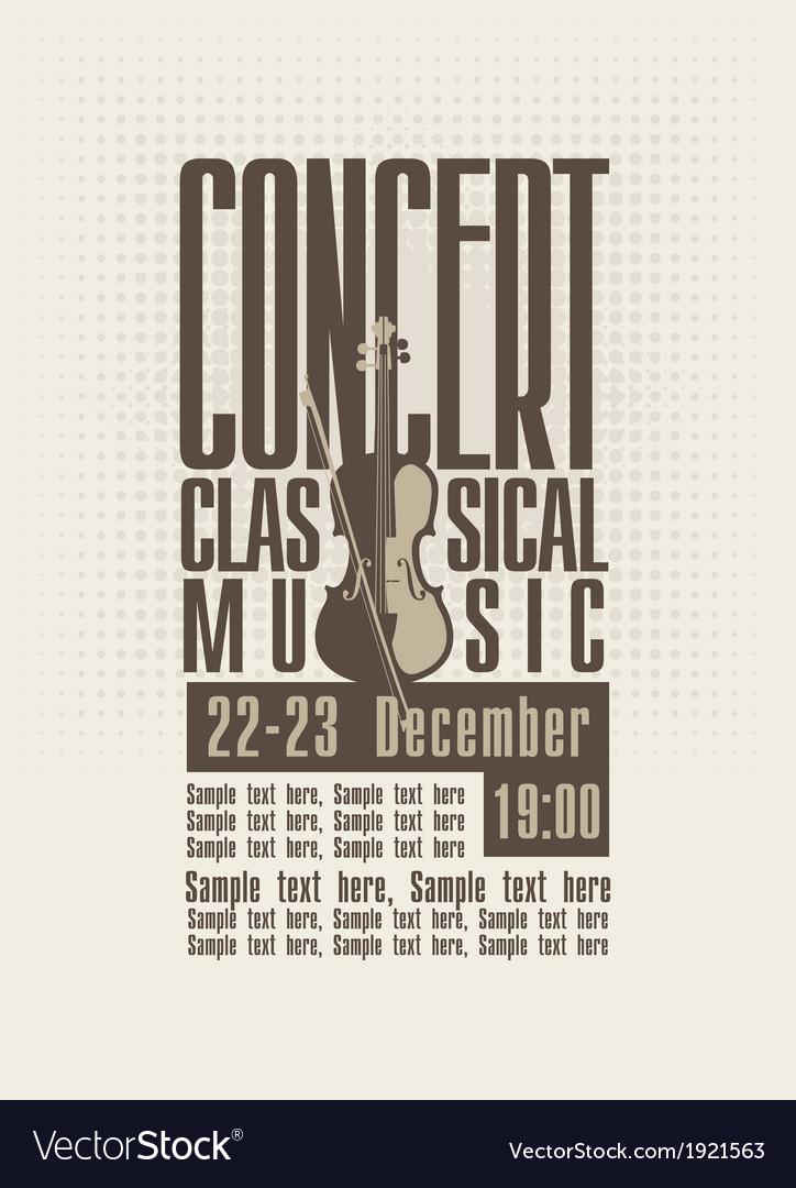 Concert music vector | Price: 1 Credit (USD $1)