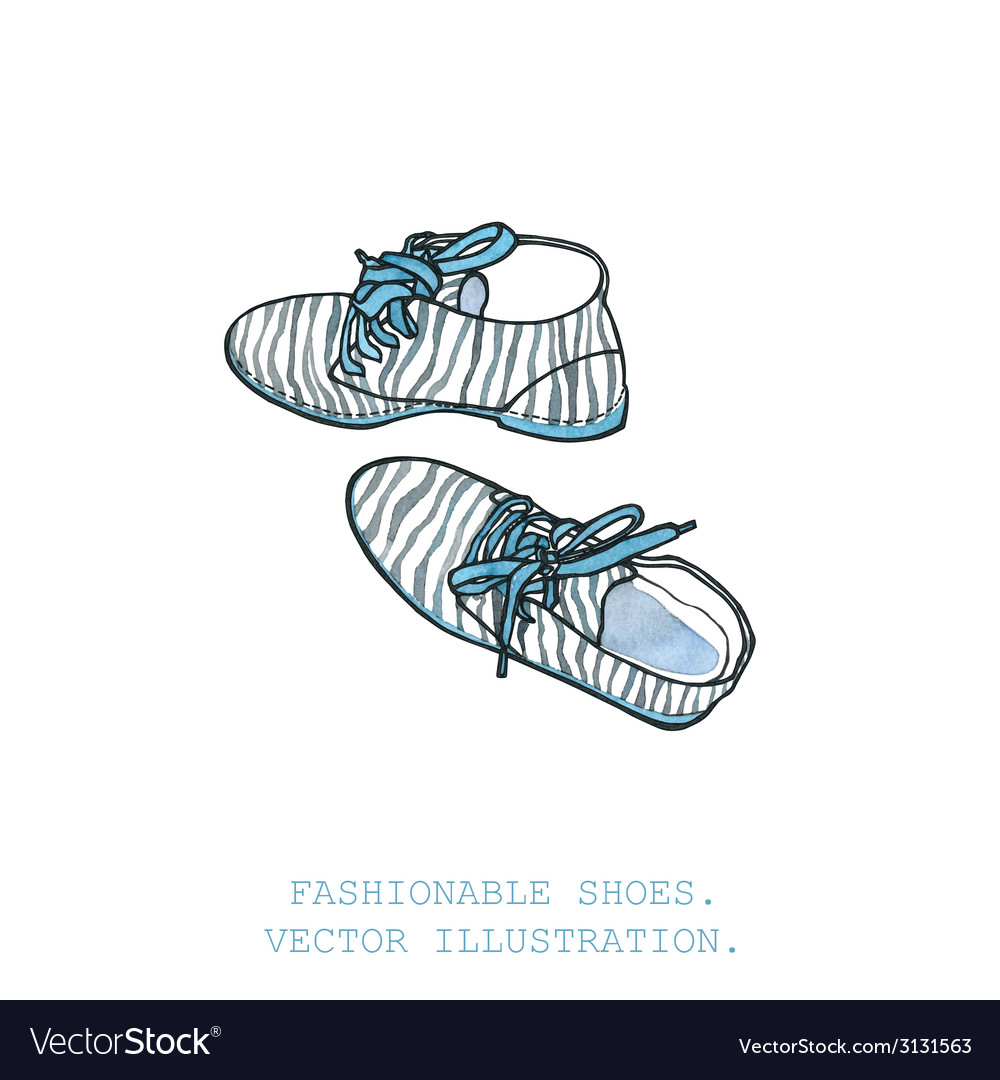 Fashionable shoes vector | Price: 1 Credit (USD $1)