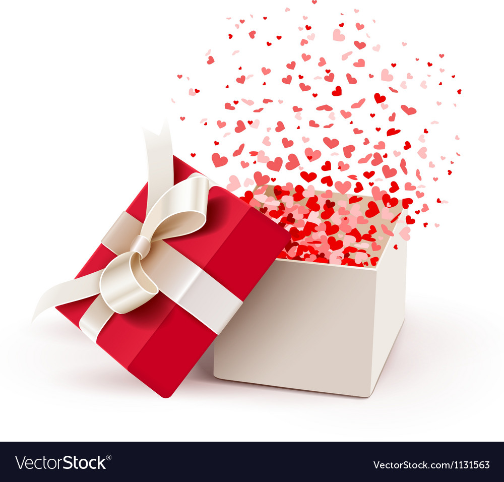 Open gift box vector | Price: 3 Credit (USD $3)