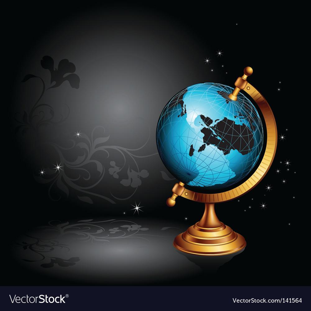 Ancient globe vector | Price: 1 Credit (USD $1)