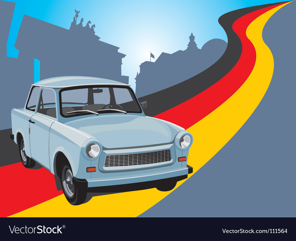 City car vector | Price: 3 Credit (USD $3)