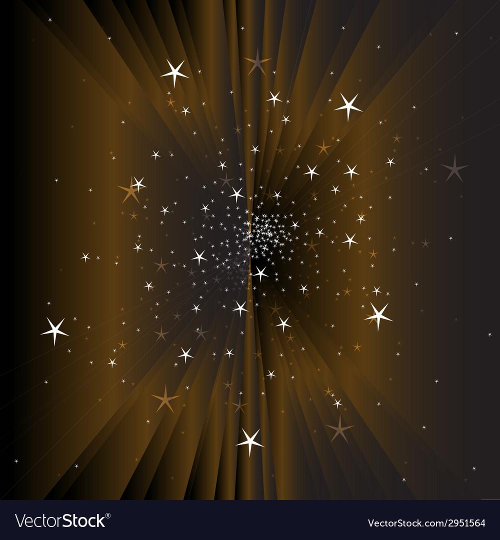 Magic star vector