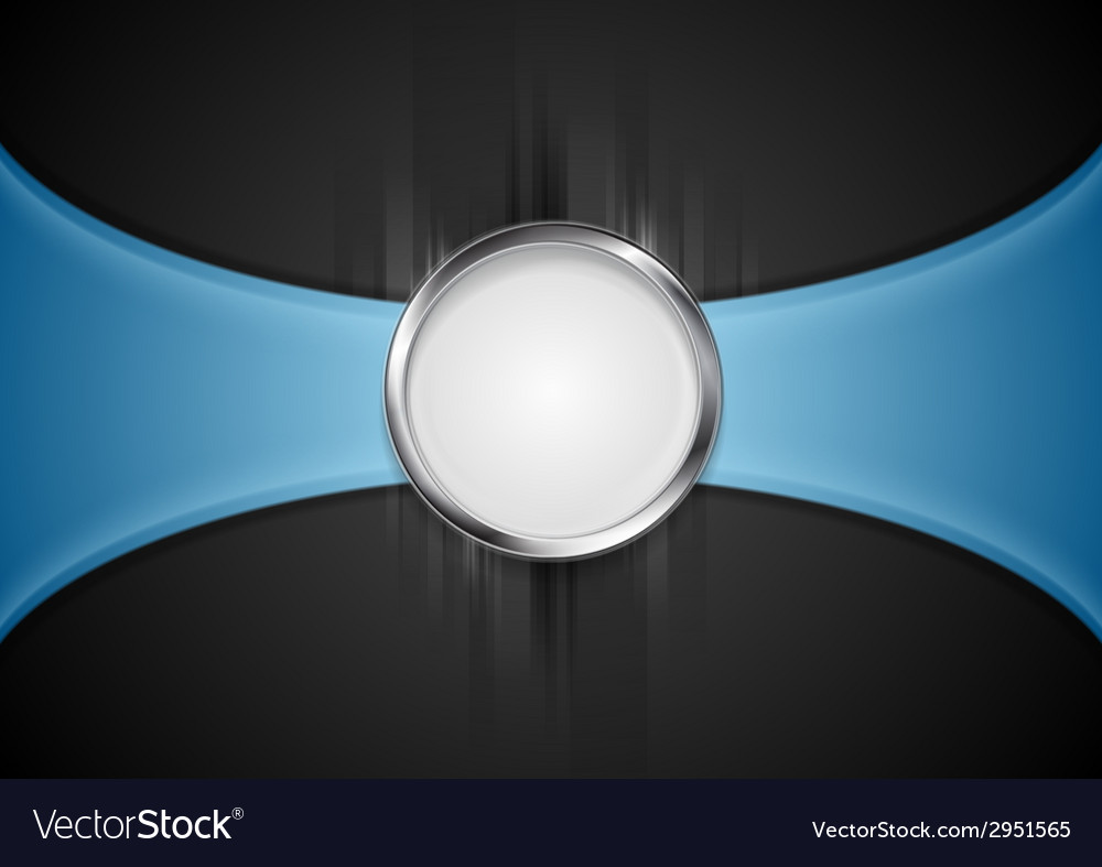 Abstract background with silver circle shape vector | Price: 1 Credit (USD $1)