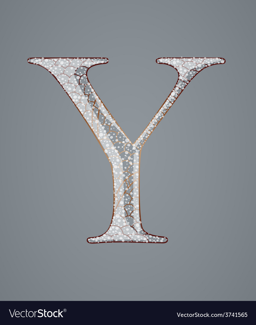 Abstract letter y vector | Price: 1 Credit (USD $1)