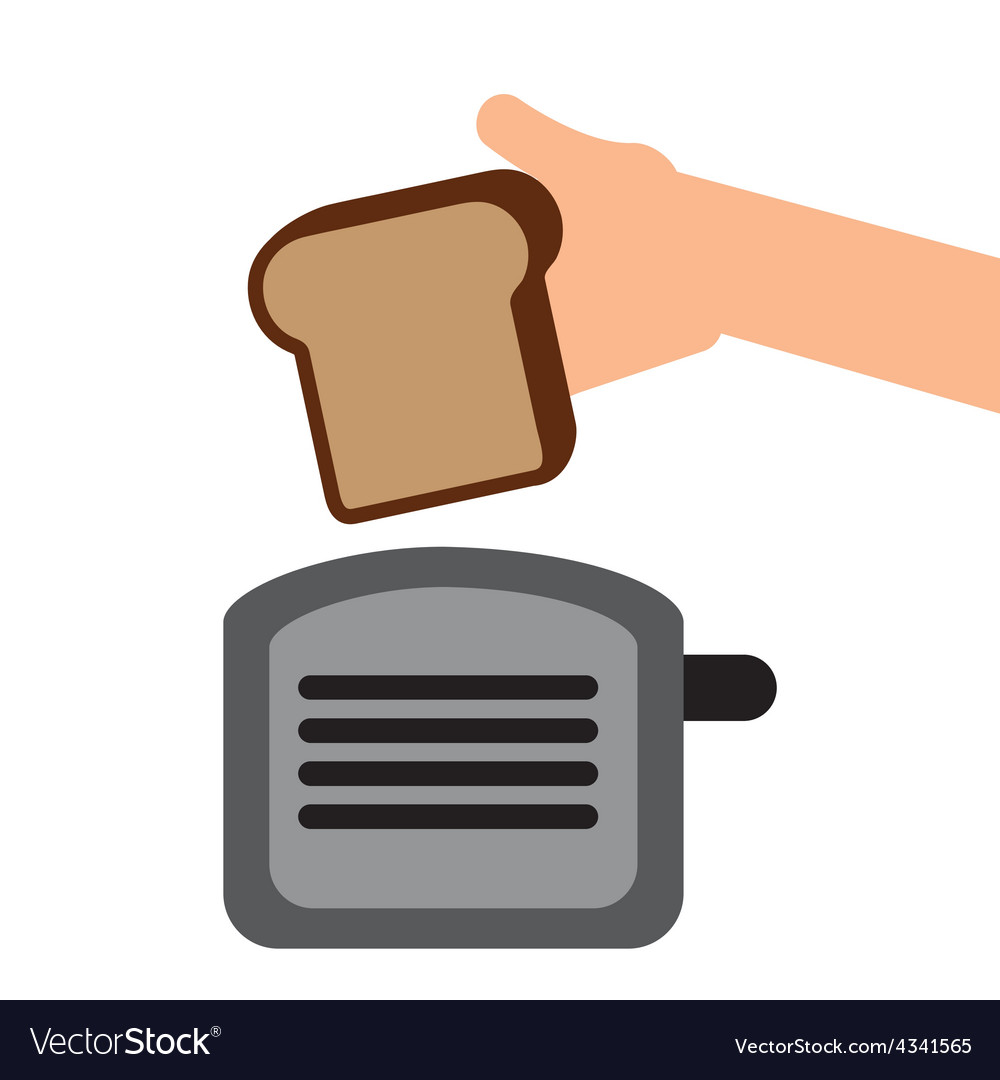 Toast bread vector | Price: 1 Credit (USD $1)