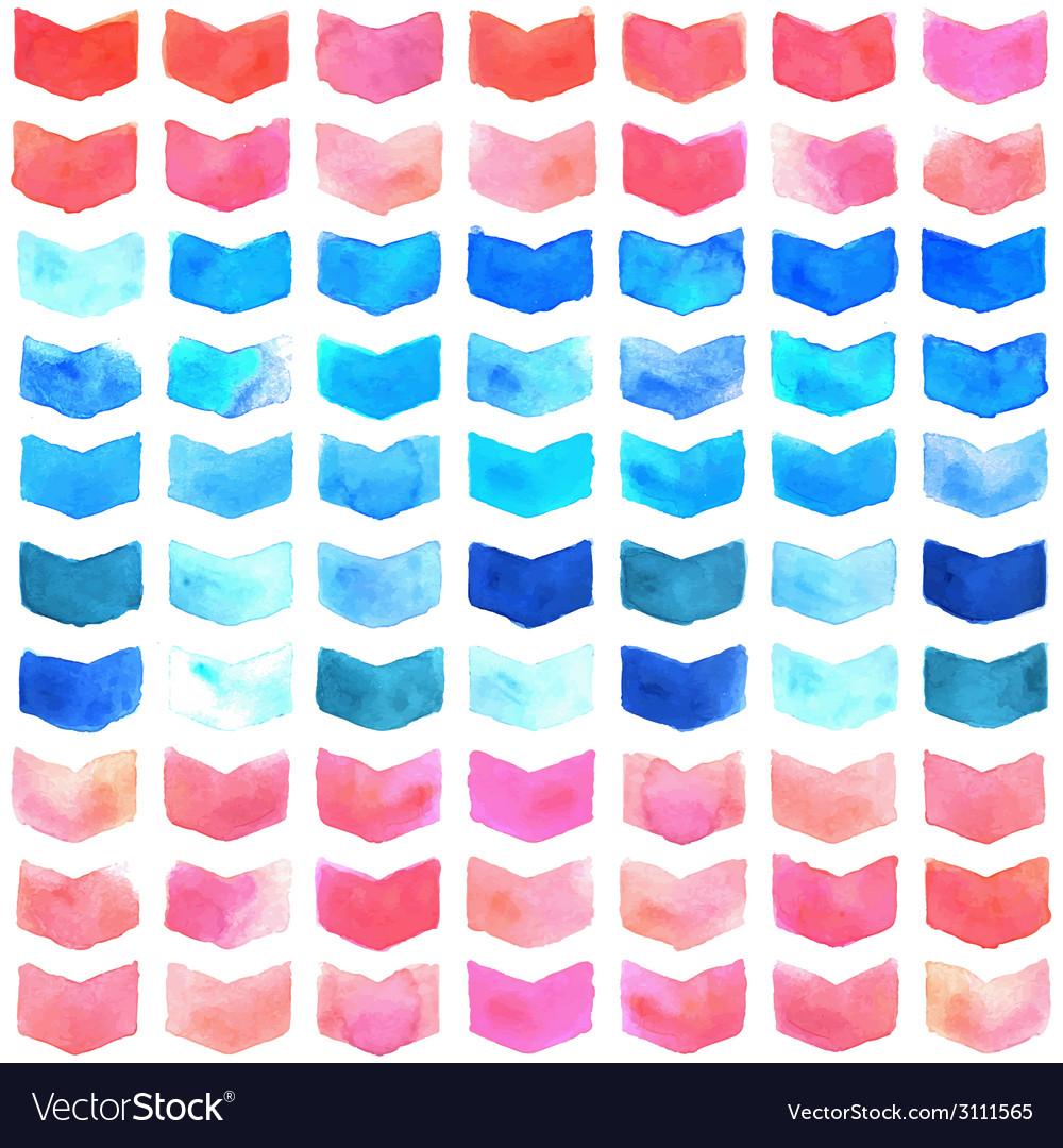 Watercolor geometric seamless pattern vector   Price: 1 Credit (USD $1)