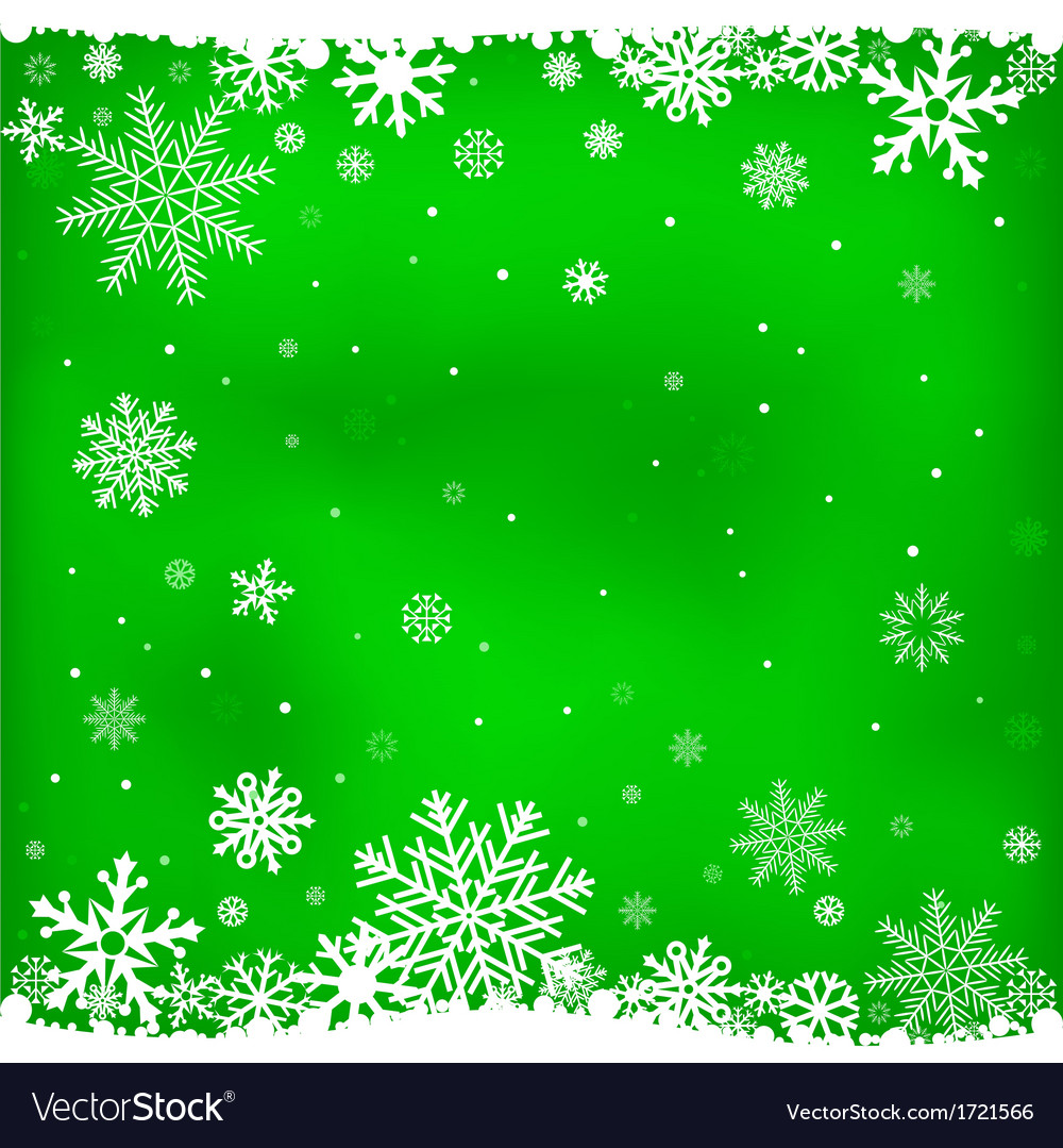 Green snow mesh background vector | Price: 1 Credit (USD $1)